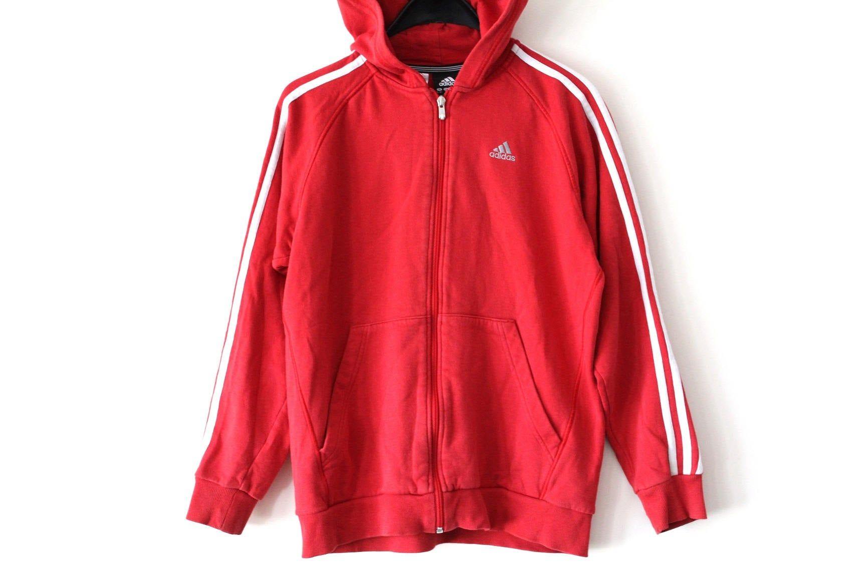 Considerar Disfraces Por favor  Vintage Adidas Sweatshirt Red White Adidas Hoodie 90's Adidas Windbreaker Retro  Adidas Tracksuit Rare Adi…   Red and white adidas, Vintage adidas, Adidas  sweatshirt
