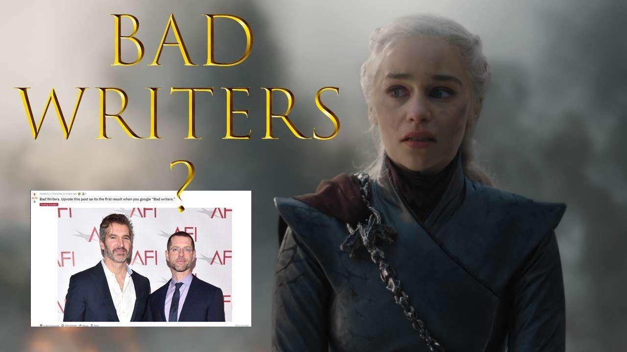 Got review bad writing make reddit notice bad writers