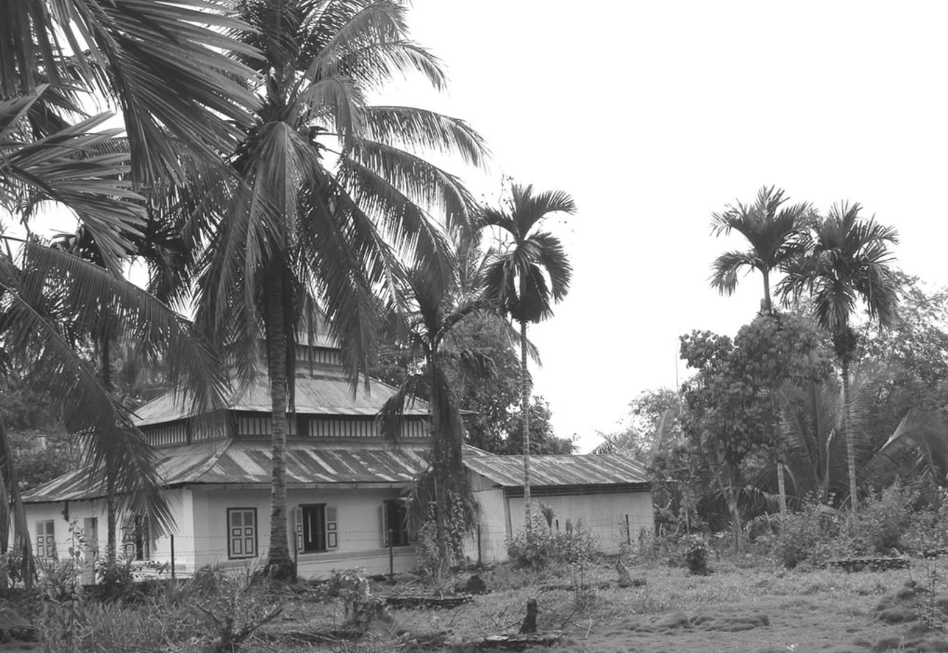 Masjid Tua Siguntur Kabupaten Dharmasraya Sumatera Barat Penuaan