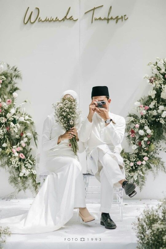 Simple Wedding Foto Perkawinan Pose Perkawinan Pernikahan