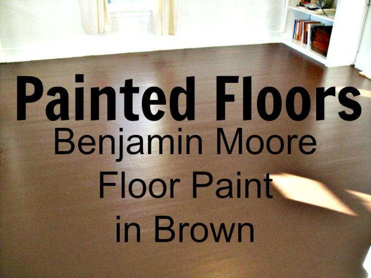 Painted wood floors benjamin moore floor paint diy for Benjamin moore floor paint
