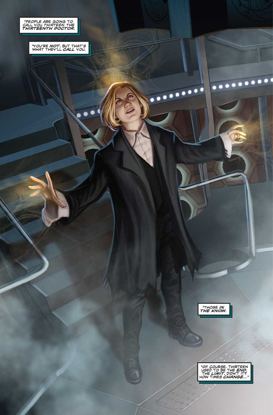 Doctor who relives her many lives in the thirteenth