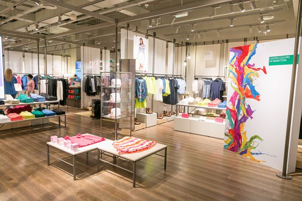Benetton On Canvas Debuts In Dubai   Retail Focus   Retail Blog For Interior  Design And