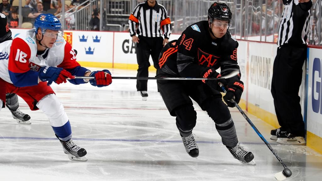 Auston Matthews Has Full Day For Team North America North America Hockey World Cup Teams