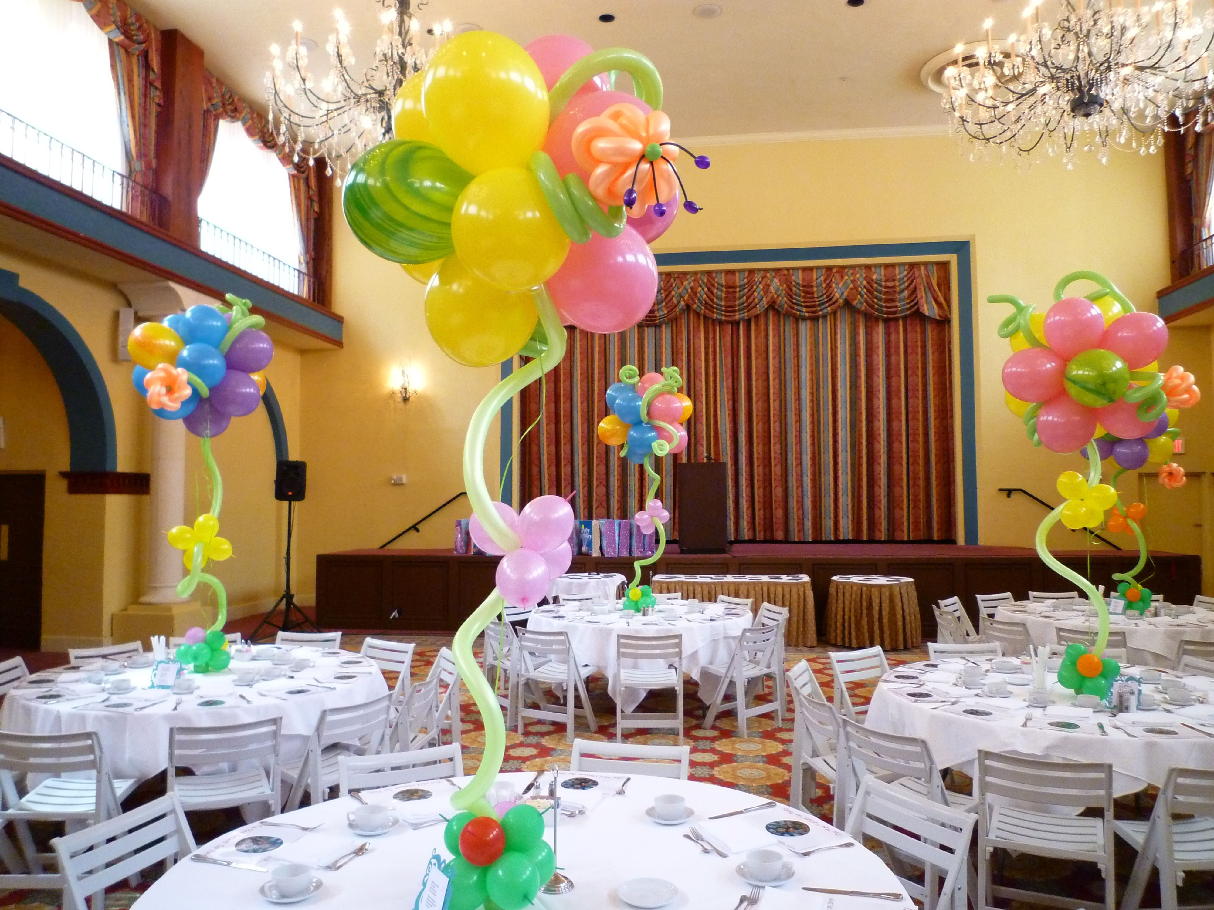 Easter Balloon Centerpiece Flower For Holiday Decoration Ideas Dreamarkevents