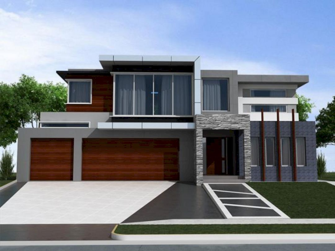 24 Chic Exterior Design Color Ideas For Home Looks More Awesome Exterior House Colors Combinations Gray House Exterior Grey Exterior House Colors