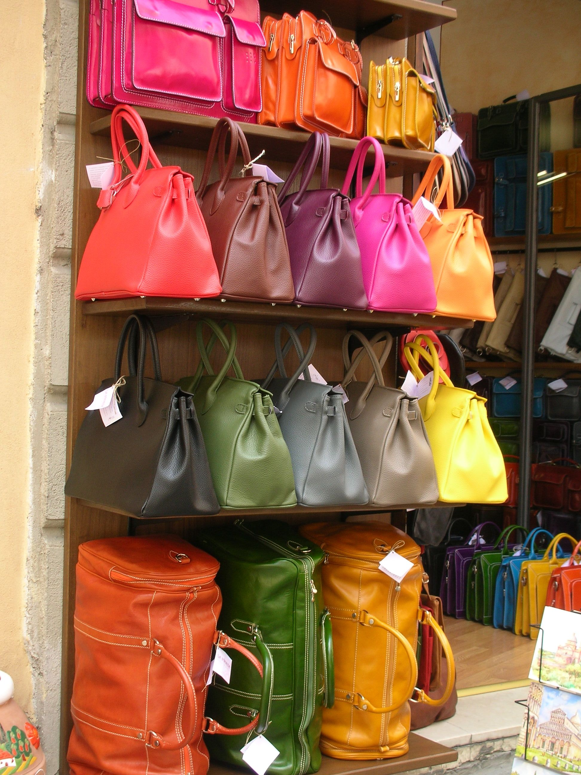 stunning, colourful leather handbags from Tuscany! | wear ...