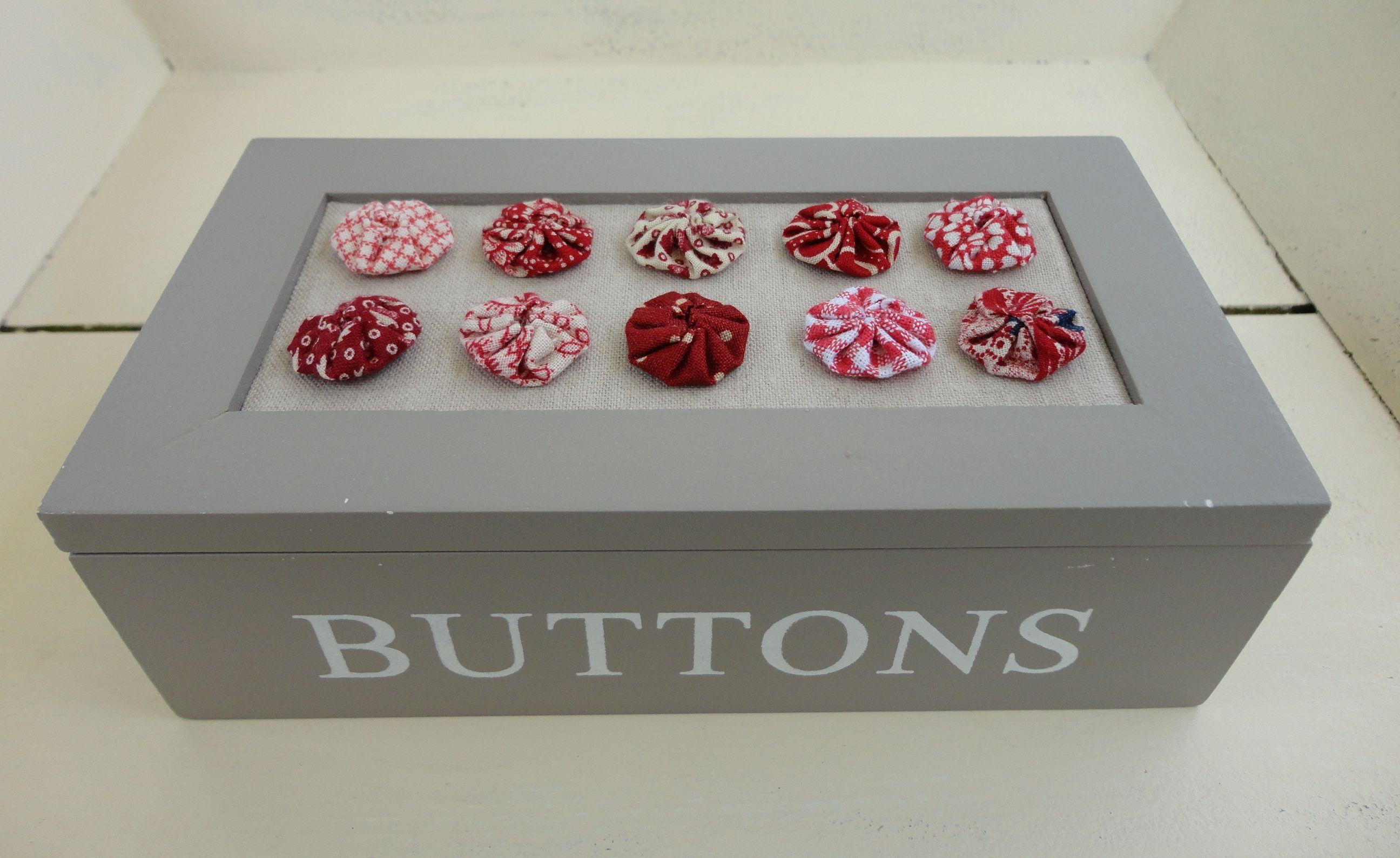 Button box with mini yoyo's