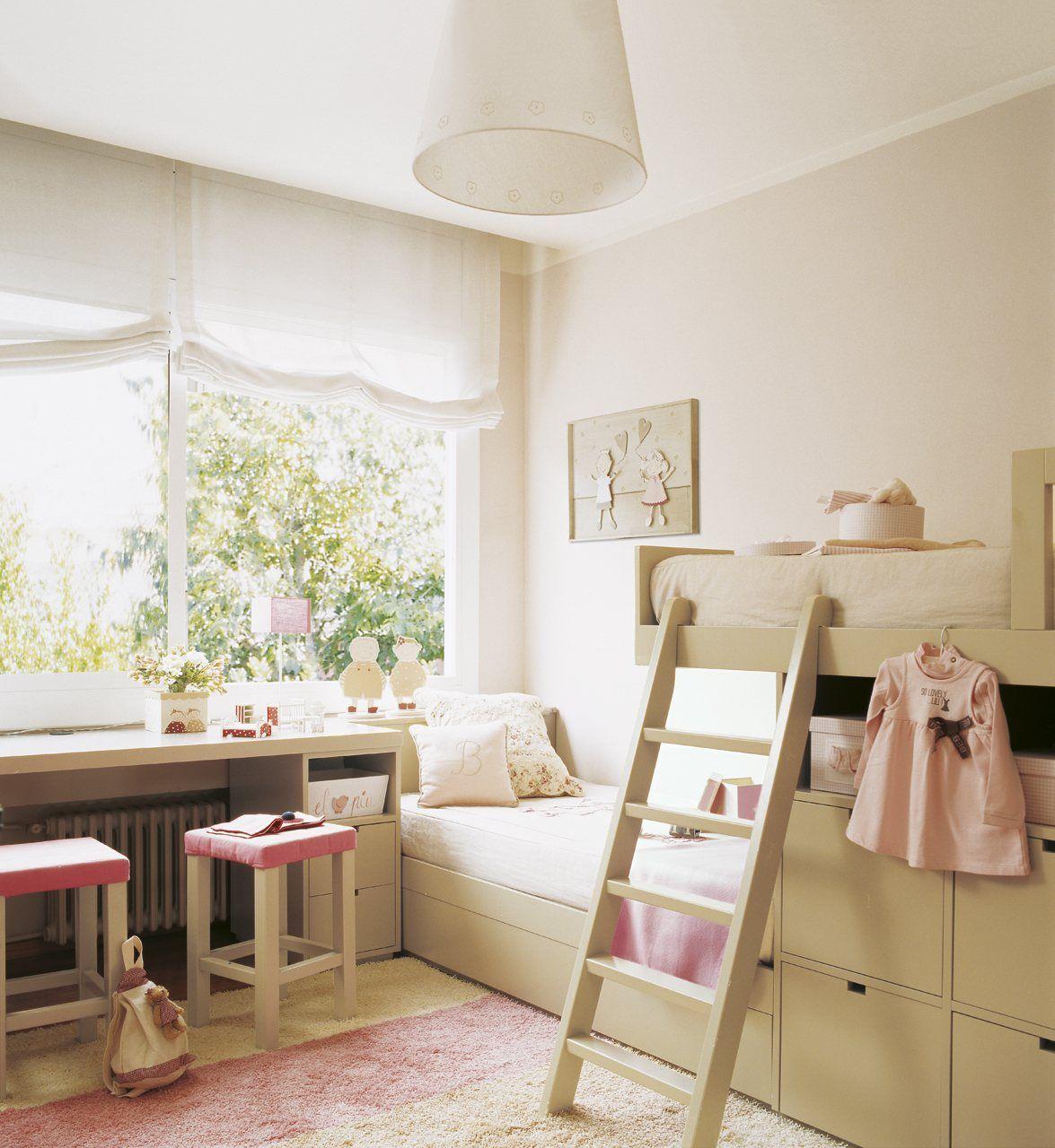 Dormitorios infantiles peque os s cales partido - Ideas habitaciones ninos ...