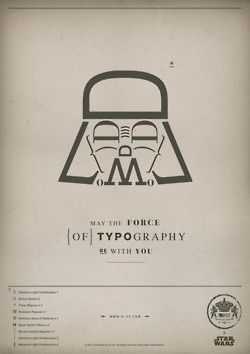 May the typography be with you