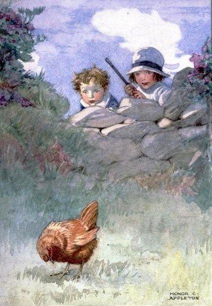 Honor C. Appleton (1879 – 1951, English) Autumn