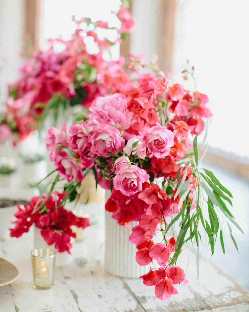 38 Pink Wedding Centerpieces We Love | Girly Girl Weddings ...