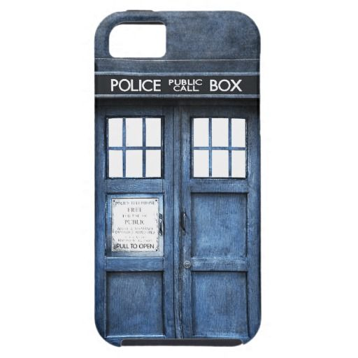 Funny Police Phone Call Box iPhone 5 Case