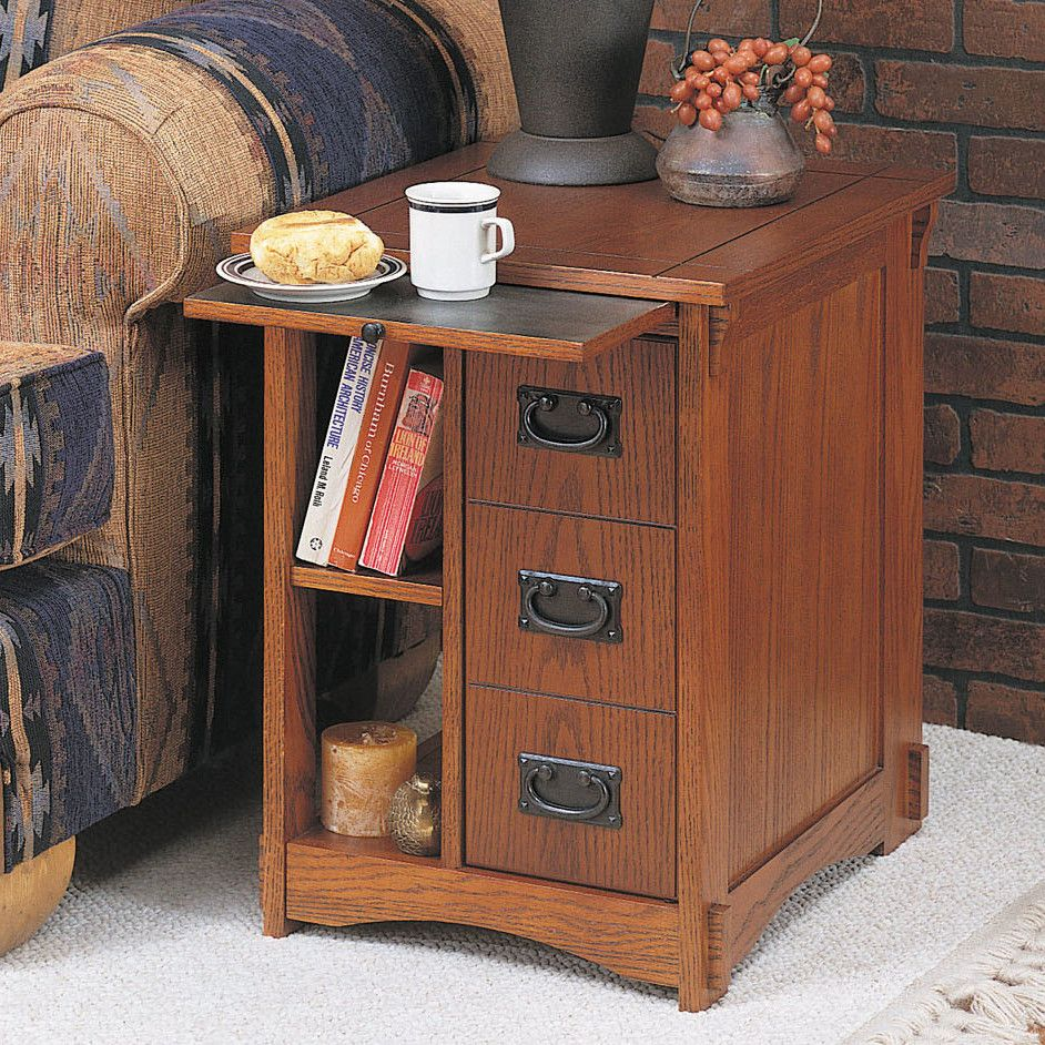 Alcott Hill Belsay End Table Powell Furniture Mission Furniture Mission Style Furniture