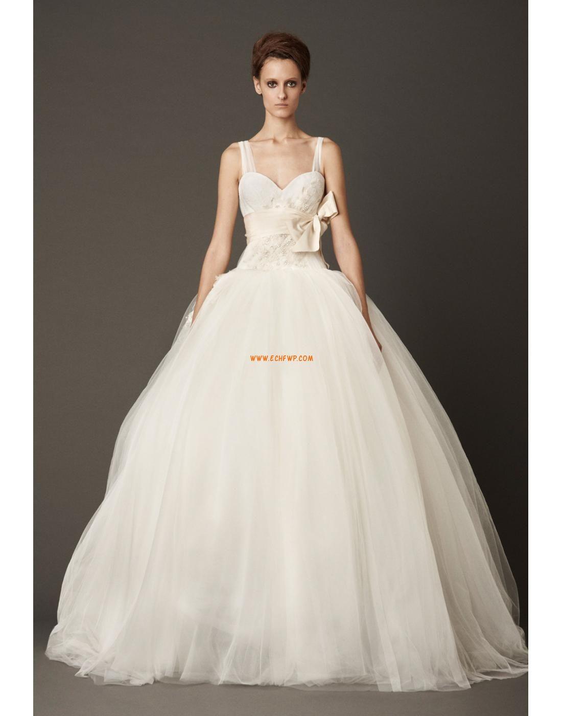 Glamourös & Dramatisch Frühling 3/4 Arm Brautkleider 2014