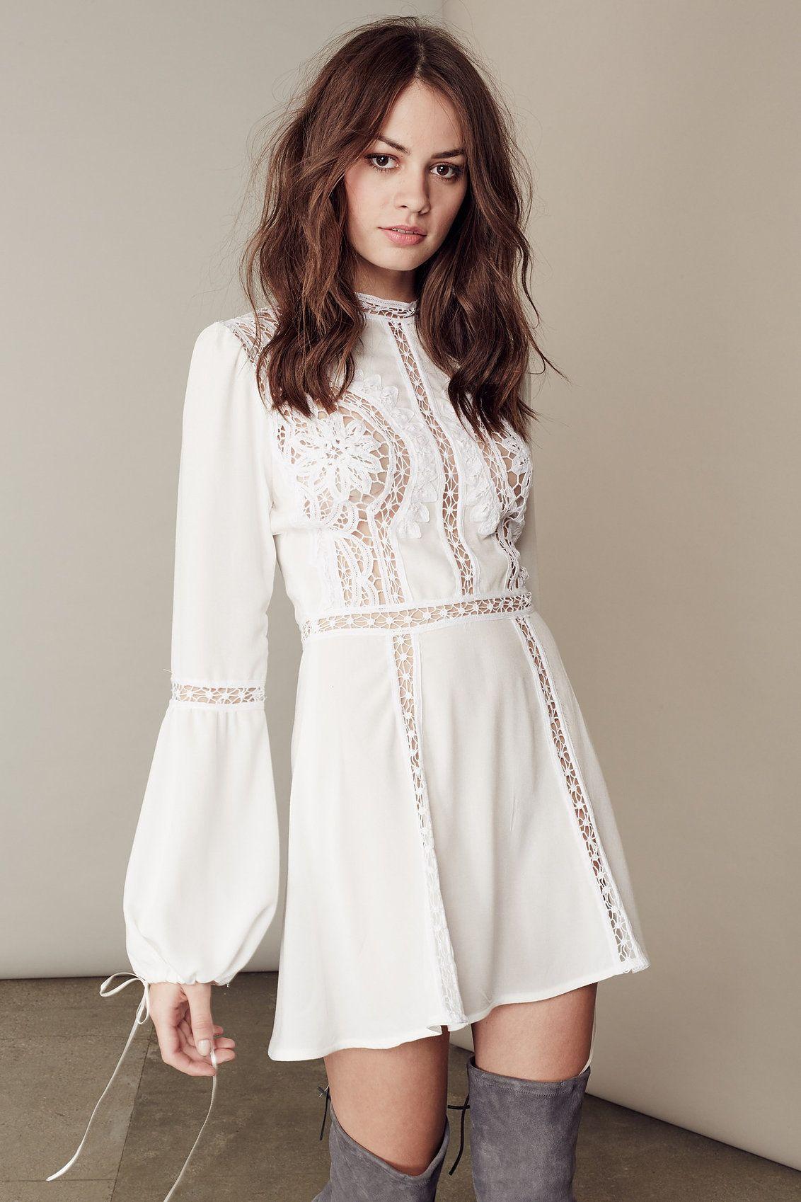White boho dress | dress up | Pinterest | Kleider