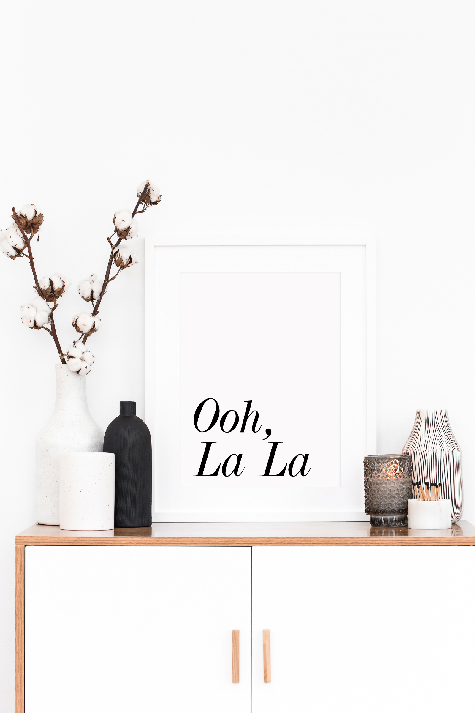 Ooh La La Wall Art Printable For The Bathroom Bedroom Or Living