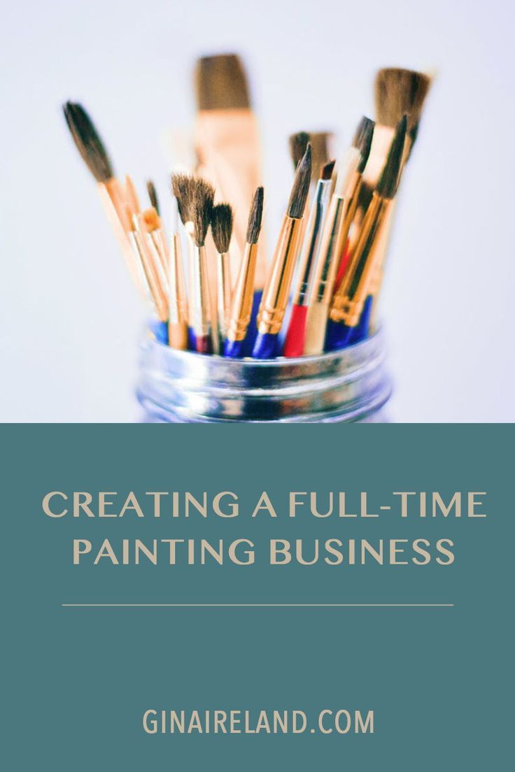 Do you want to grow your painting business? Click here to listen to this podcast episode and find out how to create a full time painting business! #businesstips #paintingbusiness #creativeentrepreneur #entrepreneurship #entrepreneurtips