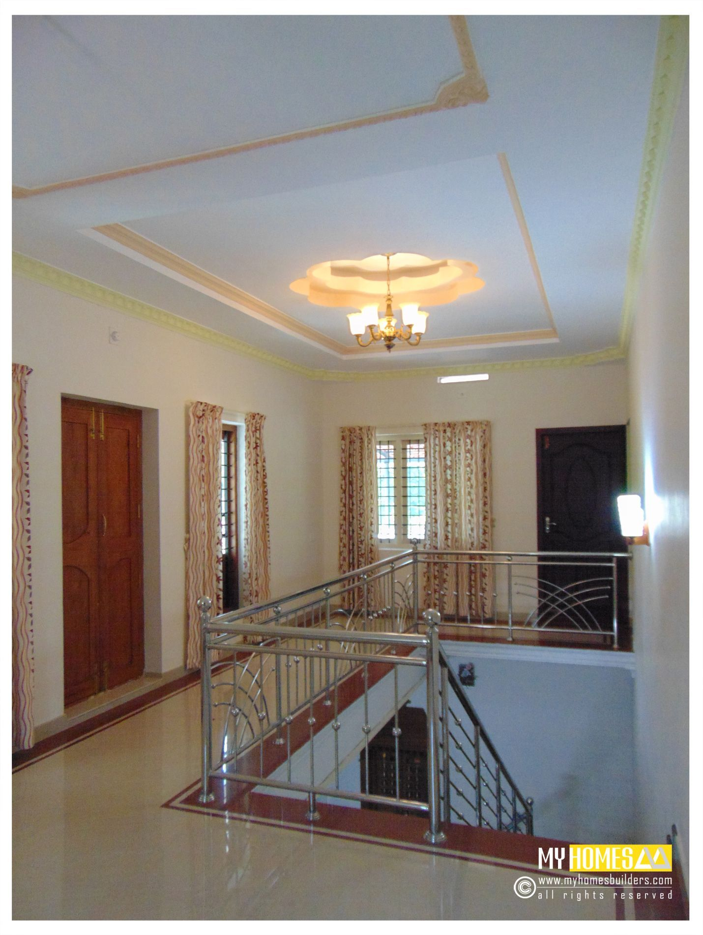 Kerala Style Contemporary House Images Kitchendesignkeralastyle Kerala Houses Staircase Design Modern House Plans