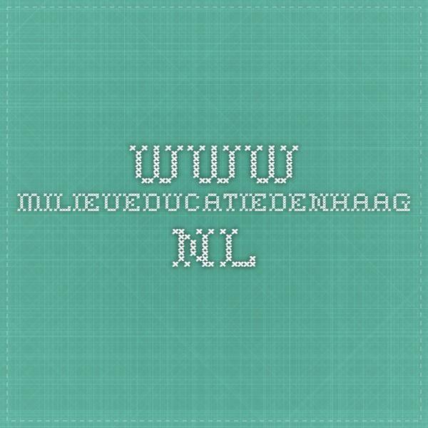 www.milieueducatiedenhaag.nl