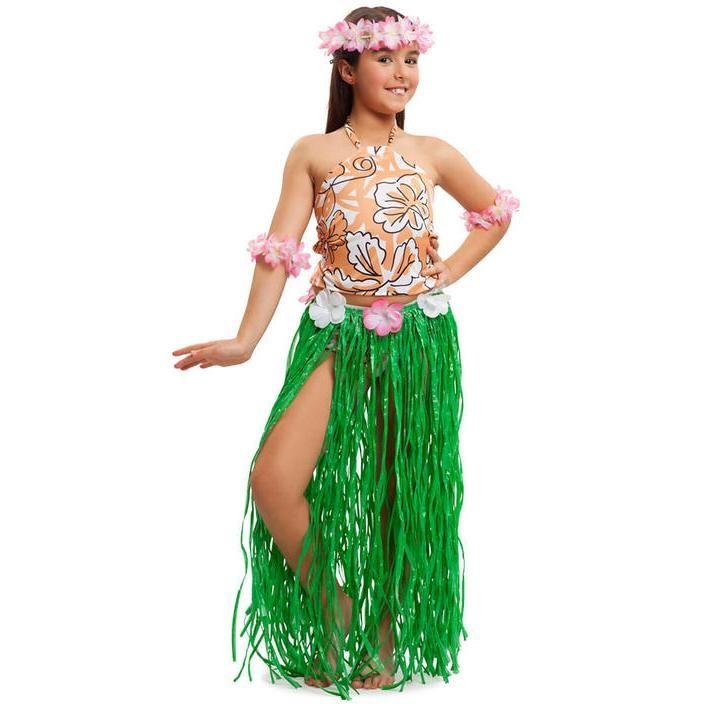 9e99e05b1 Disfraz de Hawaina para niña