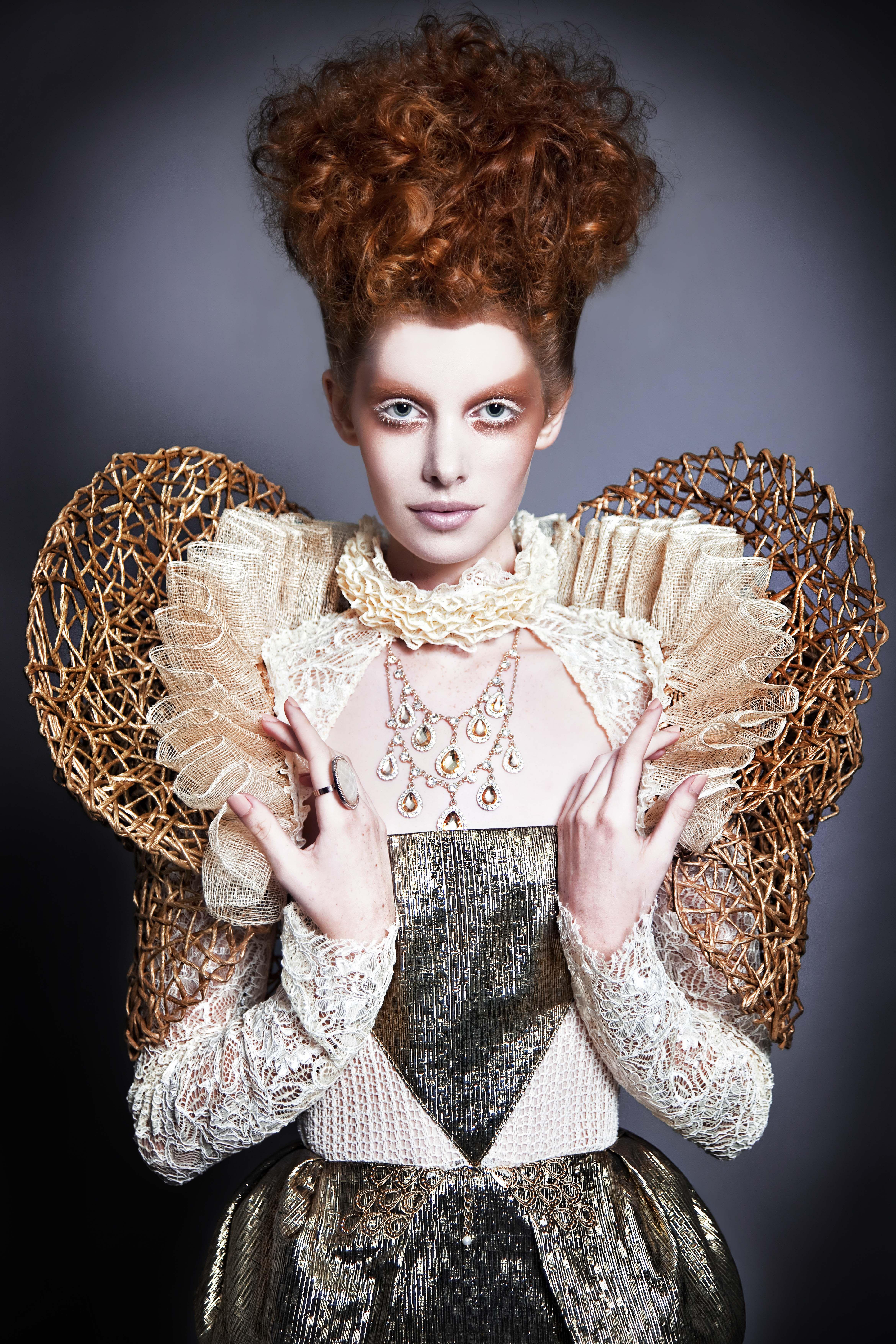 Queen Elizabeth I Caity by Katriena Emmanuel; costume