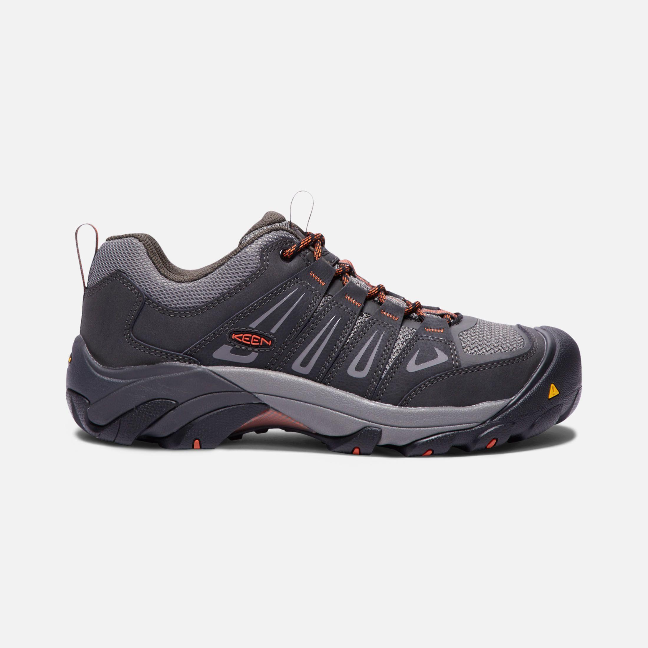 Men S Boulder Low Steel Toe Mens Steel Toe Boots Keen Shoes