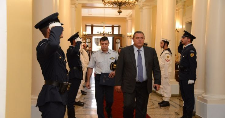 Καμμένος: Προσβλέπουμε σε περαιτέρω ενδυνάμωση των σχέσεων Ελλάδας-ΗΠΑ