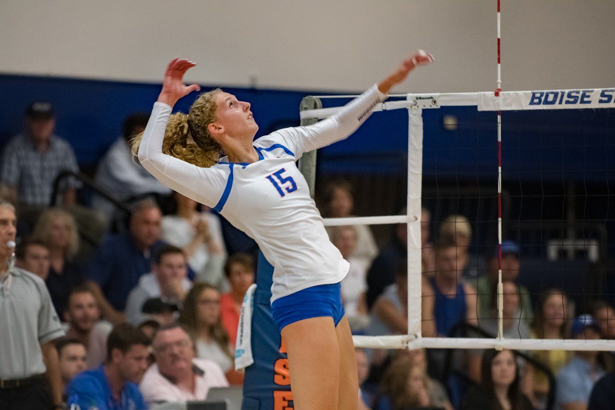 Recapping Nobley S Drive To The Boise State And Mw Career Kills Records Boise State Boise State University Boise
