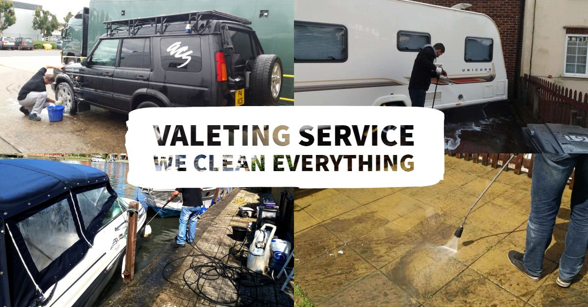 A perfect cleaning ensures a healthy living. Valeting