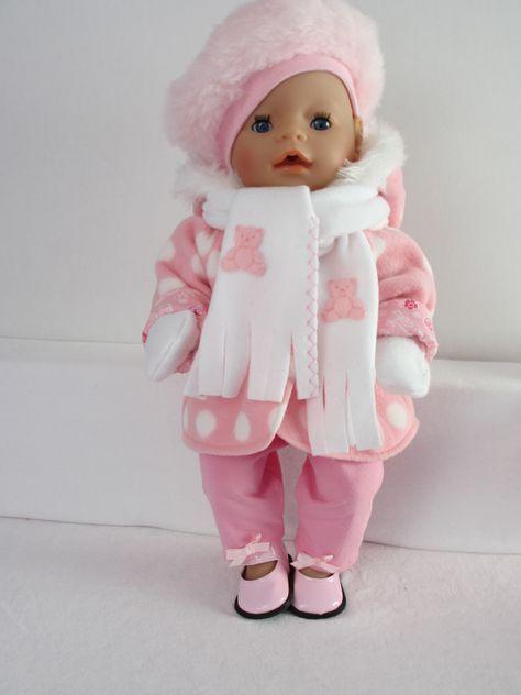 baby born winter kleertjes
