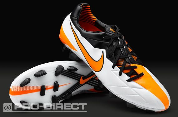 Designed to be deadly with a revamped shot shield, the lightweight new Nike  Laser IV football boots are powerful and accurate for the perfect strike on  firm ...