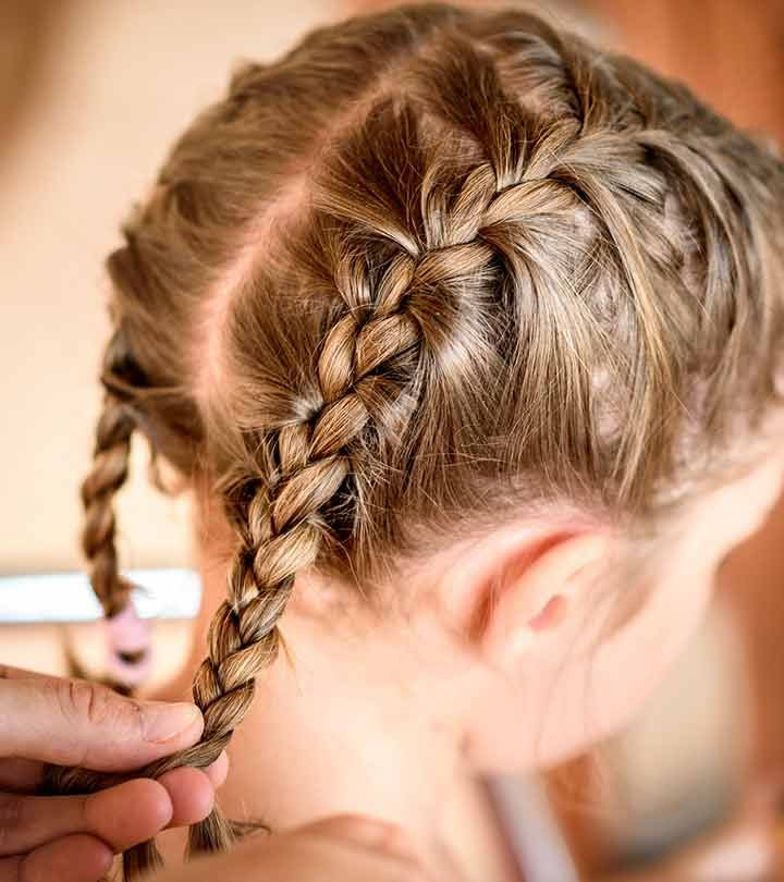 20 Quick And Easy Braids For Kids (Tutorial Included) in