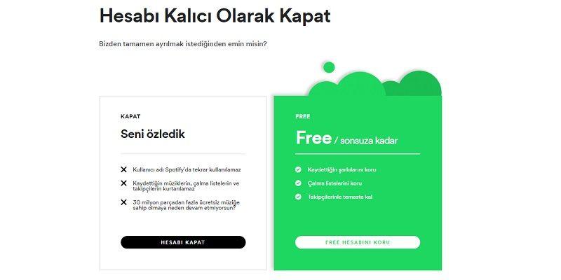 Spotify Hesap Silme Nasil Yapilir Teloji Free Blog Adlar