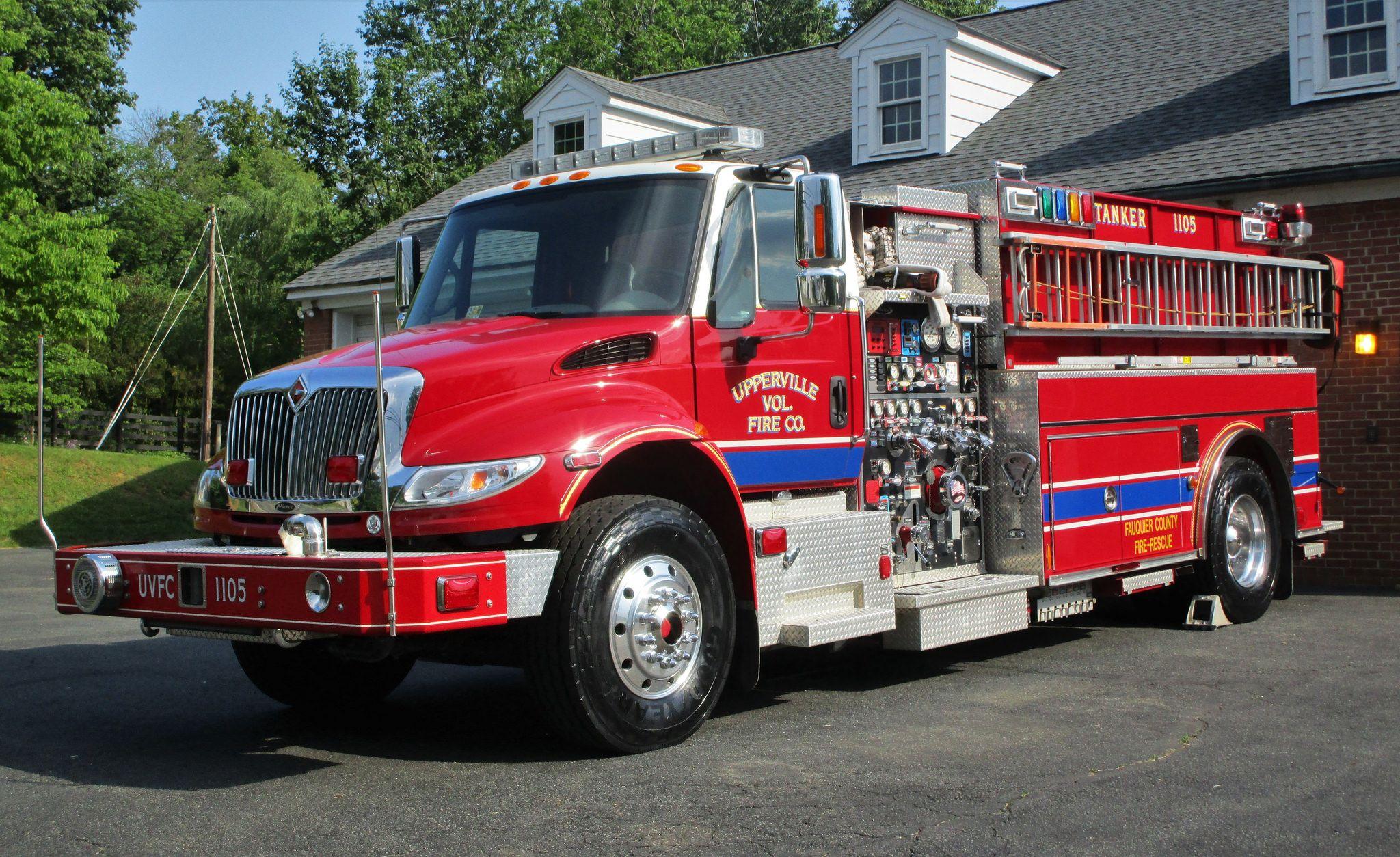 Upperville Volunteer Fire Company Tanker 1105 2007 International