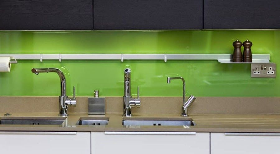 Soluciones de vidrio para la pared frontal de la cocina   Vidrio, La ...