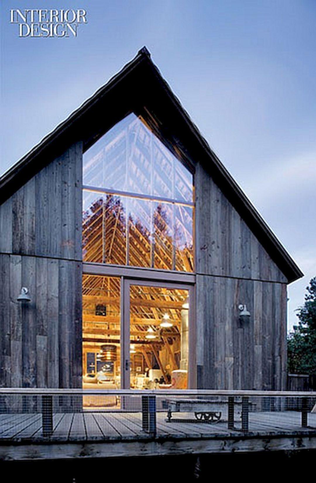 Minimalist House 85 Design: Maisons De Grange, Maison De Vacances Et Vieilles