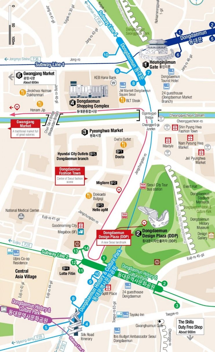 Dongdaemun Market Maps Pinterest Seoul South korea and City
