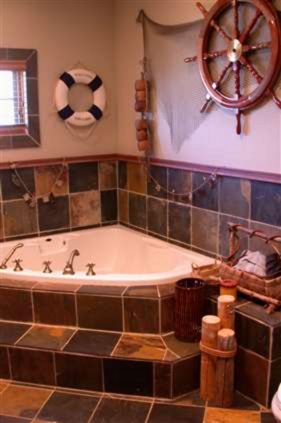 25 Best Pirate Bathroom Design Decor Ideas For Your Kids Pirate Bathroom Nautical Bathroom Decor Nautical Bathrooms