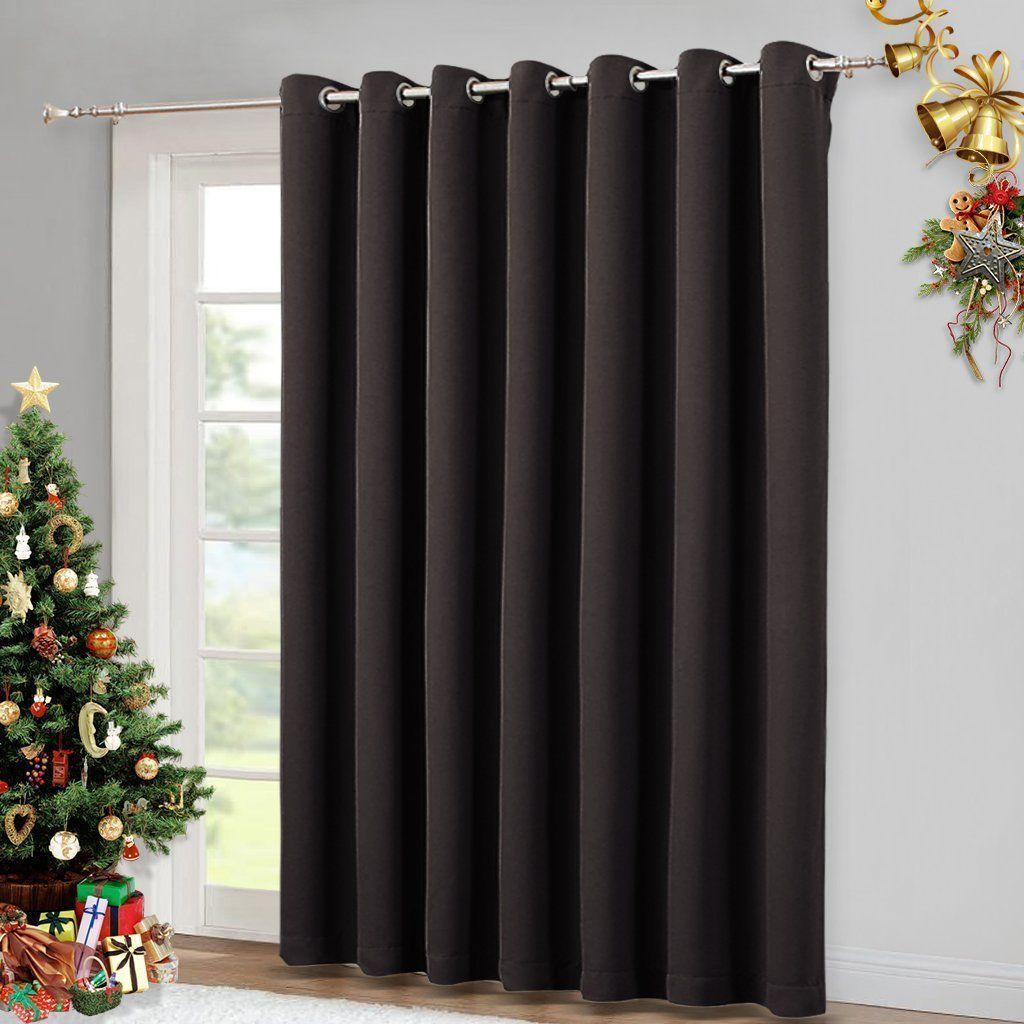 Brown drapes for sliding glass door door blinds curtains for door
