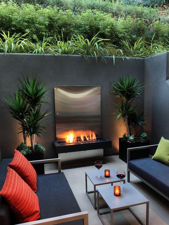 1000  images about chimeneas de exterior on pinterest