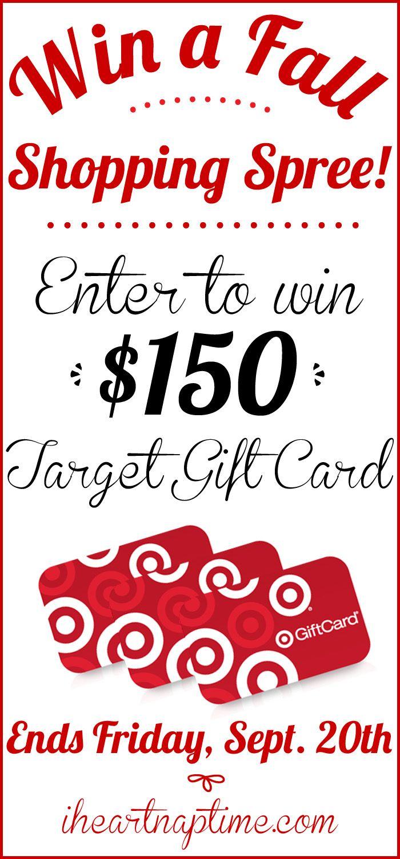 $150 Target giveaway! I Heart Nap Time | I Heart Nap Time - Easy recipes, DIY crafts, Homemaking