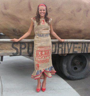 49++ Potato sack dress info