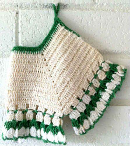 Vintage Bloomers Potholder – Free Crochet Pattern | KNIT & CROCHET ...