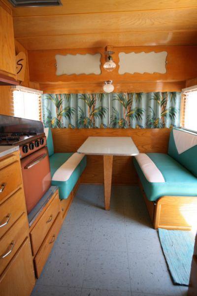 Shasta Trailer Vintage Interior Cosmo Vintage Camper