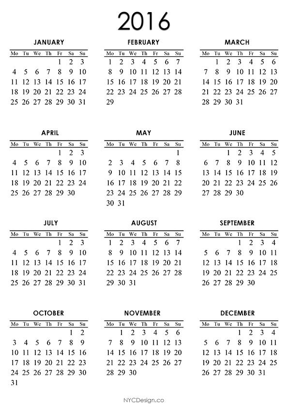 Blank A4 January 2016 Calendar Printable Free Printable Calendar Printable Calendar 2016 Calendar Printables Free Printable Calendar Templates