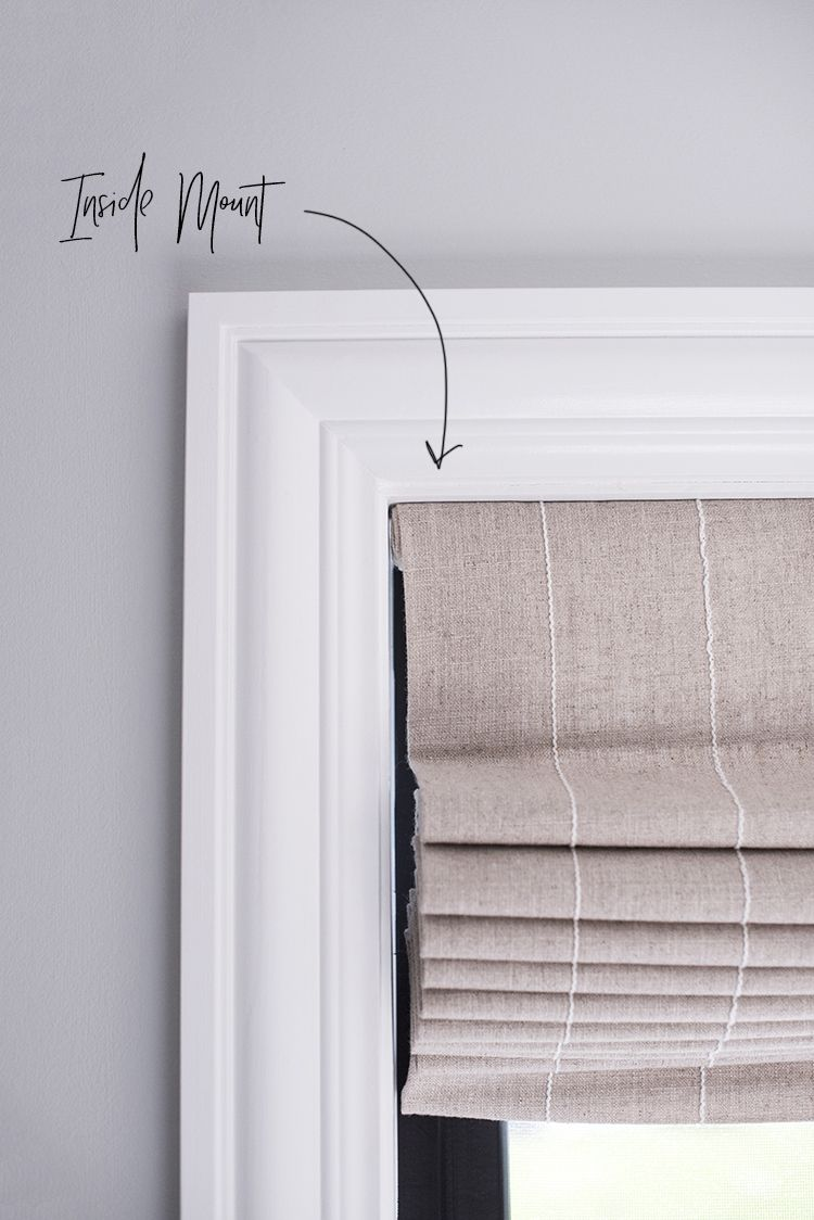 Outside window treatment ideas  how we choose  roman shades  room for tuesday blog  d Ī y