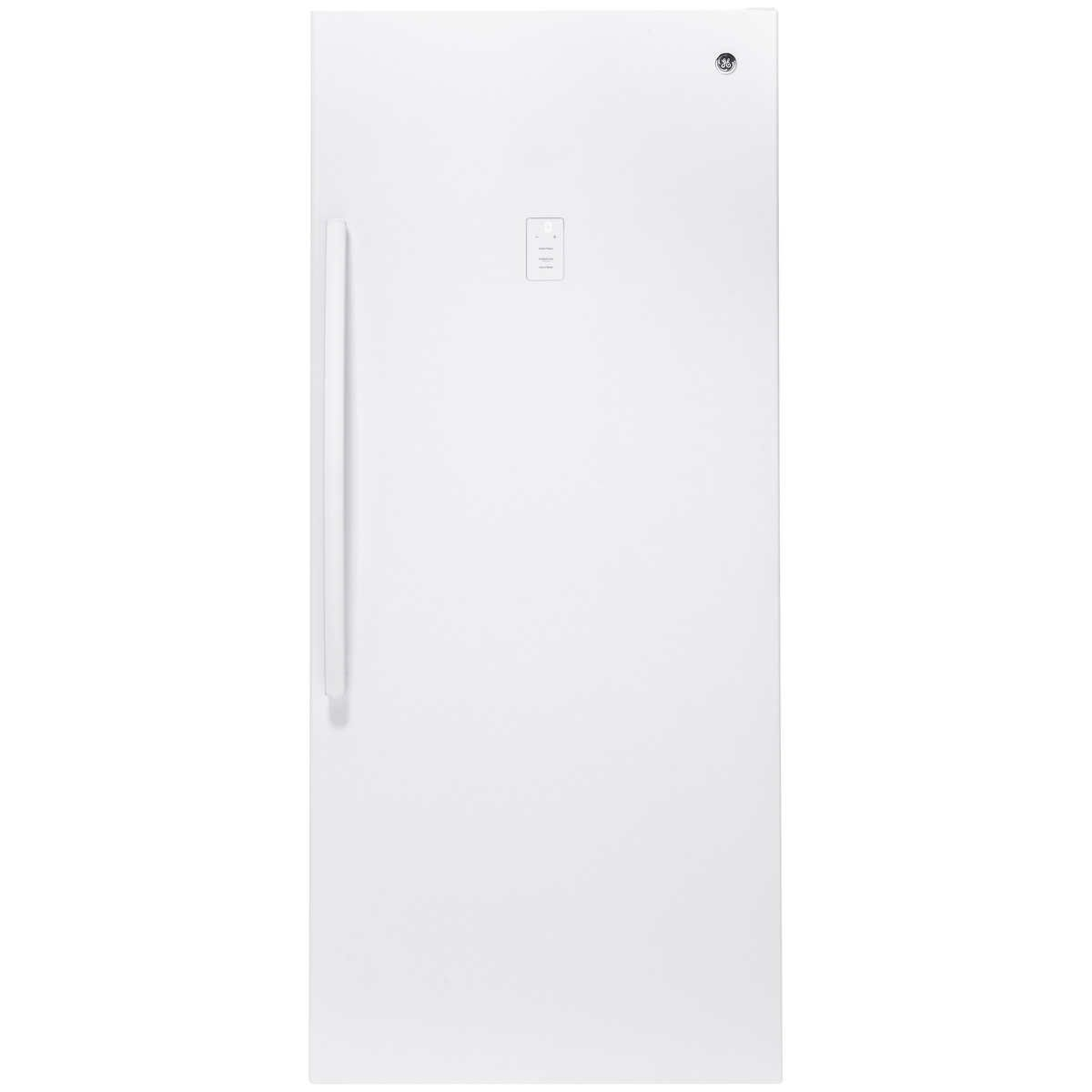 Ge 21 3 Cu Ft Frost Free Upright Freezer In 2020 Upright Freezer Interior Lighting Adjustable Shelving