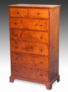 Plans to build shaker chest of drawers plans pdf download shaker chest of meuble en bois - Meuble shaker ...