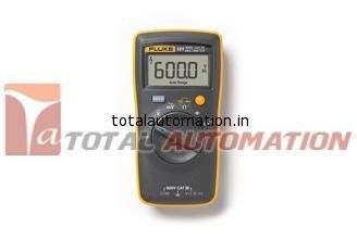 Fluke 101 Basic Digital Multimeter Total Automation Designed For Basic Electrical Tests The Fluke 101 Digital Multimeter Air Conditioning Technician Digital